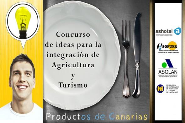 Concurso de ideas integrar Agricultura y Turismo en Canarias