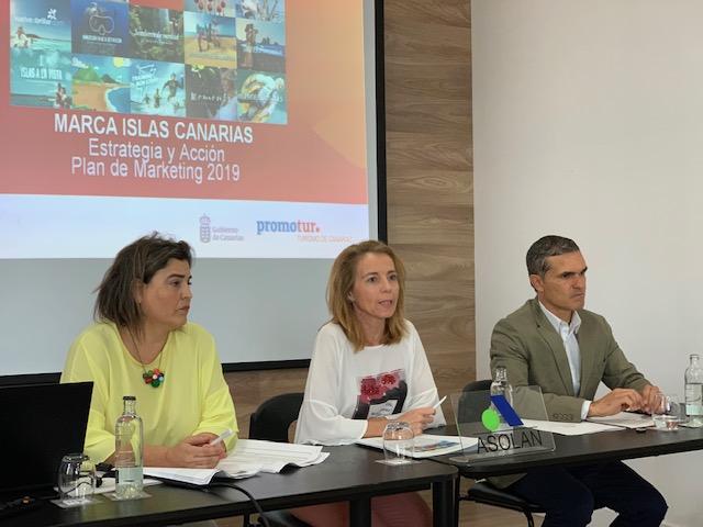 ASOLAN y Promotur presentan a los profesionales del sector la estrategia de la Marca Islas Canarias y el Plan de Marketing para 2019