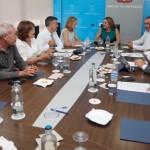 20190927 imagen reunion Cabildo de Lanzarote - Federación