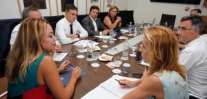 20190927 imagen reunion Cabildo de Lanzarote - Federación II
