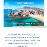 Circular FTL 265/21: #LanzaroteSeguro | Guía actualizada de protocolos y recomendaciones Covid en Alojamientos Turísticos Lanzarote I 21 sept. 2021